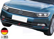 Chromleiste für VW Passat B8 3G2 3G5 Stoßstange Vorne ab 2014 Limo Variant Chrom