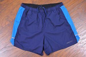 "Patagonia 5"" Unlined Athletic Shorts Navy Blue Men's Medium M"