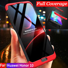 For Huawei Honor 10/9/8 360° Full Protective Hybrid Case + Tempered Glass Cover