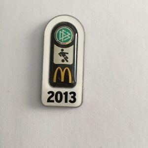 DFB Deutscher Fussball Bund McDonalds Fussball Abzeichen 2013 Pin !!