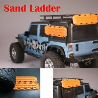 2* Sand Ladder Anti-skid Recovery Board for 1/10 RC Crawler TRX4 SCX10 D90 CC01