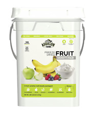 Freeze Dried Fruit Emergency Food Supply Storage Bucket Prepper Survival Ration