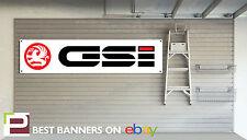 Vauxhall GSi Workshop Garage Banner Nova, Astra, Cavalier