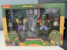 NECA Teenage Mutant Ninja Turtles Napoleon Attila TMNT Figure 2 Pack Nickelodeon