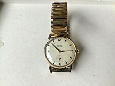 Vintage 50s Mens Gruen precision sub second 17 jewel 410