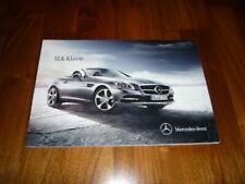 Mercedes SLK Prospekt 12/2013