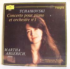 "33T TCHAIKOVSKI Disque LP 12"" Martha ARGERICH Piano CONCERTO N° 1 D. GRAMMOPHONE"