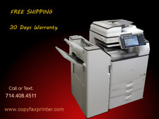 Ricoh Mp 2554 Blackwhite Copier Printer Scanner With Stapling Finisher