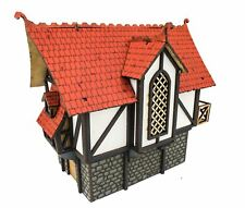 WWG Medieval Town Large Town House – 28mm Fantasy Wargame Terrain Model Diorama