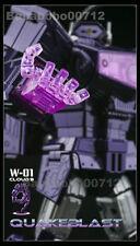 New Transformers Cloud9 C9 W01 Quakeblast G1 Masterpiece Shockwave instock toy