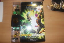 DC HEROCLIX GREEN LANTERN WAR OF LIGHT SINESTRO CORPS WAR SCENARIO GAME PACK