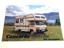 1984 Mitsubishi Camper Concorde CountryBoy Original Sales Brochure folder