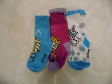 3 PACK DISNEY FROZEN BABY GIRL LACE EDGED SOCKS C0-C2