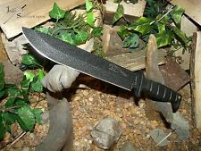 Survival knife/Bowie/Licensed Army/MOLLE/Super Heavy duty/6MM/Hunting/Zombie