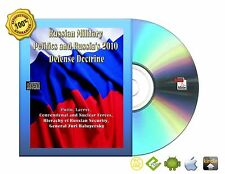 Russian Military Politics and Russia's 2010 Defense Doctrine Book On CD