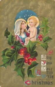CHRISTMAS – Madonna and Child Merry Christmas
