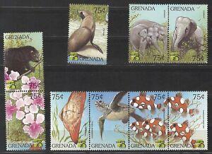 Grenada, Tiere, postfr., 1999