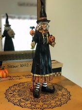 Halloween Witch Head Witchtress Detailed Resin Sculpture Sweet Street NWT 16""