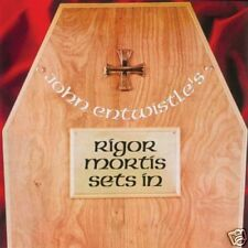 JOHN ENTWISTLE 's RIGOR MORTIS SETS IN track LP 1973 IT