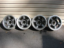 14x6 VINTAGE C-T CHUCK TURNER 2 PIECE SUPER STOCK WHEELS SHELBY MUSTANG CAMARO