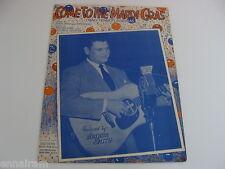 Come to the Mardi Gras 1947 sheet music Arthur Smith cover Nao Tenho Lagrimas