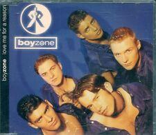 MAXI CD 2 TITRES--BOYZONE--LOVE ME FOR A REASON--1994