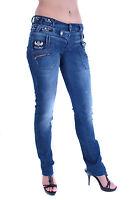 Cipo&Baxx Pantalones Vaqueros De Mujer 3-bund-jeans cbw-282