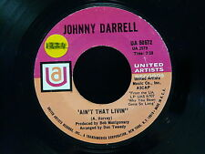 JOHNNY DARRELL River bottom / Ain't that livin UA 50572