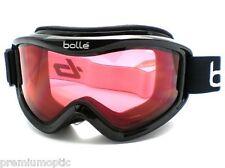 BOLLE medium-large MOJO Ski Snowboard Goggles Shiny Black/ Vermillon CAT.2 20571