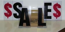 "8"" on 10""  Outdoor Marquee Changeable Sign Letters 302"
