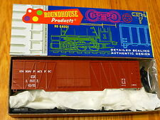 Roundhouse Ho #2117 (Rd #151273) Up 50' Ext. Brace Boxcar Dbl. Wood Doors (Kit)