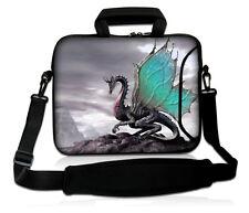 """Fly Dragon 15"""" 15.5"""" 15.6"""" Laptop Sleeve Shoulder Bag Case Cover +Handle, Pocket"""
