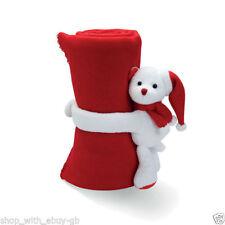 Articles de literie rouge polaire pour enfant