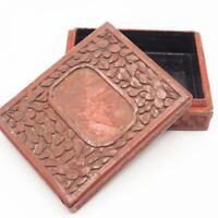 Vintage Small Jewelry Trinket Box