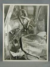 Paper Photographer Jim Ryan Black and White Photo Car Crash Victoria B.C