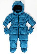 ADD Daunen Schneeoverall  Schneeanzug in royalblau Gr. 12Mon. NEU