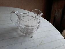Ancien pichet / cruche à eau en verre art de la table