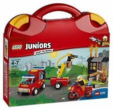 Lego Juniors Fire Patrol Suitcase 10740 Toy Gift for Kids
