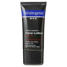 4x Neutrogena Men Triple Protect Face Lotion With Sunscreen SPF 20 Skin Healthy