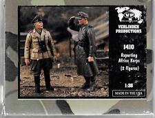 Verlinden WWII German, 'Reporting, Sir' Afrika Korps, Resin Figures 1/35 1951 ST