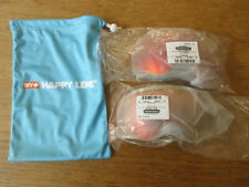 Lot SPY REPLACEMENT HAPPY LENS for MARSHALL GOGGLE -> 1x BRIGHT & 1x LOW LIGHT