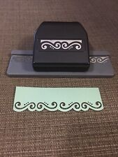 Ek Success Flourish Scrolls Edger Border Paper Punch Scrapbook Decorative