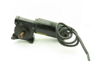 Baldor GP7413 Gearmotor 90VDC 1/4 HP 314 RPM 32 lb-in 8:1 JK Frame Dual Shaft