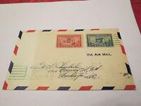 SCOTT #649-50 1928 AERONAUTICS  FIRST DAY COVER