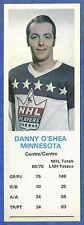 "1970-71 Dad's Cookies - DANNY O""SHEA - Minnesota  (ex)"