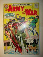 Our Army at War #153 VG+, 1965, DC comics, Joe Kubert art, 2nd Enemy Ace, BV=$50