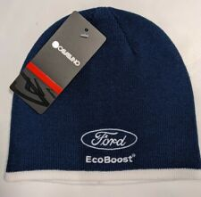 Chip Ganassi Racing Ford Ecoboost Cavallino Winter Camber Beanie NWT Blue