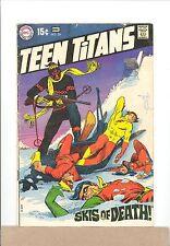 1969 DC Comics TEEN TITANS #24 Robin,Kid Flash,Wonder Girl vintage silver age
