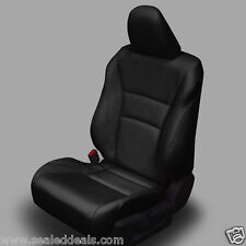 2013 2014 Honda Accord Sport / EX BLACK KATZKIN LEATHER SEAT REPLACEMENT COVERS
