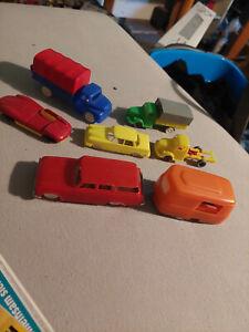 Spielzeugautos Konvolut diverse Plastikautos für Bastler